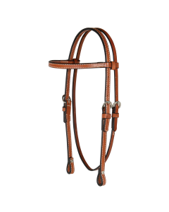 Arabian/Cob Classic Smooth Browband Headstall