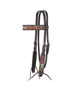 Cactus Country Browband Headstall