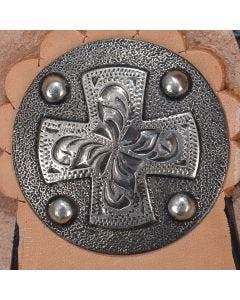Antique Maltese Cross Concho