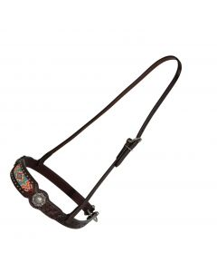 Beaded Berry Noseband